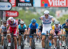 Tour de France 2013 - Stage 1 - 213KM - Porto Vecchio to Bastia.  Winner and 1st Yellow Jersey of 2013 Tour was Kittel of Argos Shimano