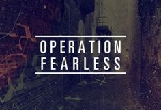 Operation Fearless - cool idea for youth groups Youth Ministry Lessons, Youth Group Lessons, Youth Group Activities, Youth Groups, Ministry Ideas, Women's Ministry, Ministry Leadership, Church Activities, Youth Retreat Ideas