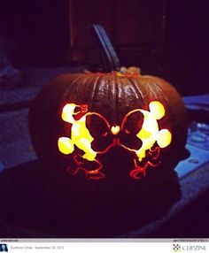 Disney Pumpkin Carving Ideas @Devin Thompson Thought of you!
