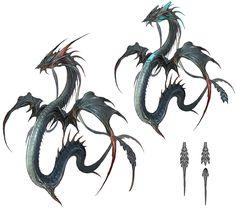 Leviathan from Final Fantasy XIV: A Realm Reborn