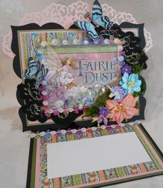 This Graphic 45 Fairy Dust collection is to die for  and you wont get tired of it EVER!!! I created some shaped  shaker easel cards using this amazing collection! https://www.youtube.com/watch?v=0acwetn6xSs&t=1376s