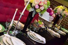 Graduation dinner tablescape by KettyDelights