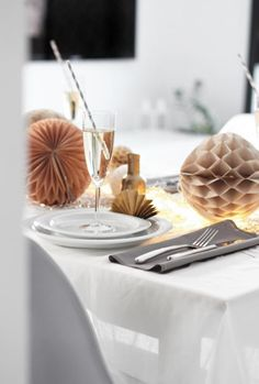 Table setting -New Year´s
