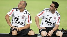Alessandro e Chicão - Sport Club Corinthians Paulista