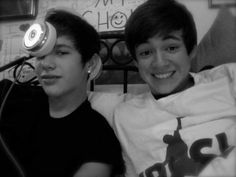 Austin Mahone and Alex Constancio <3