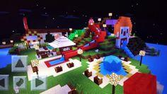 Minecraft Water Park