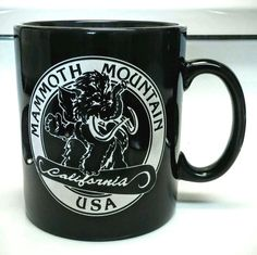 VINTAGE MAMMOTH MOUNTAIN INN COFFEE MUG HOT CHOCOLATE CUP CALIFORNIA SKI LODGE in Collectibles, Decorative Collectibles, Mugs, Cups | eBay
