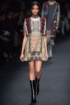 Valentino Fall 2015 Ready-to-Wear Fashion Show - Aya Jones