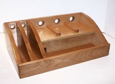 Charging Station / Docking Station with Power Strip in by tomroche, $80.00