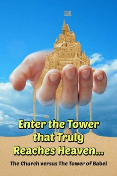 Mankind wanted to built the Tower of Babel that reached the dome of the sky (to try entering Heaven), to make a name for themselves--based on their own strength and ability, apart from God. Faith Based Movies, Four Gospels, Gospel Of Luke, Sermon Notes, Tower Of Babel, The Tabernacle, Christian Movies, Christian Devotions, Everlasting Life