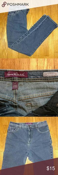 Gloria Vanderbilt jeans Good condition. Smoke free home. Fits great! Gloria Vanderbilt ladies jeans.  Size 12.  The Amanda fit Gloria Vanderbilt Jeans