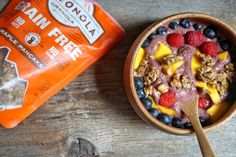 Berry Lucuma Açaí Bowl Recipe (with Paleonola)   Breakfast Criminals