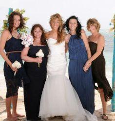 Family wedding St. Lucia The girls!