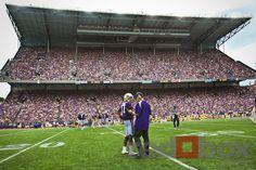 Coach Sark & Keith Price, Husky Stadium