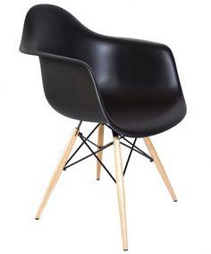 Chelsea DAW Arm Chair - Set of 2 (Black)