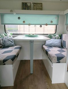 caravan makeover 395613148518913100 - Source by Happy Campers, Rv Campers, Caravan Makeover, Caravan Renovation, Caravan Living, Rv Living, Caravan Decor, Motorhome, Vintage Caravans