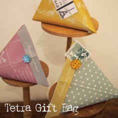 【東京アンティーク】テトラ型ギフトバッグ【楽天市場】