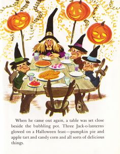 Your source for everything Halloween, Thanksgiving and Autumn all year round! Halloween Eve, Halloween Painting, Halloween Signs, Halloween Cards, Halloween Decorations, Halloween Witches, Halloween Pumpkins, Halloween Ideas, Vintage Halloween Posters