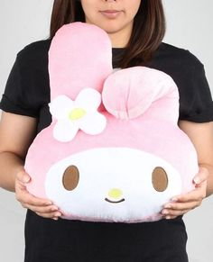 #MyMelody cushion takes the award for cuteness. Add to the office chair or bedroom decor.