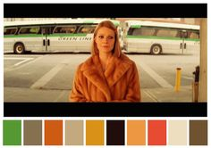Cinema Palettes: Color palettes from famous movies - The Royal Tenenbaums