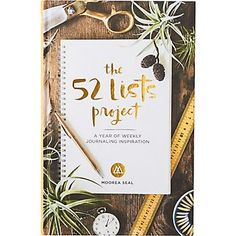 The 52 Lists Project...perfect gift vor me
