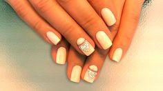 cool Красивый маникюр со стразами (50 фото) — Лучшие идеи дизайна ногтей Читай больше http://avrorra.com/manikyur-so-strazami-foto/