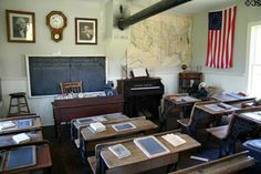 inside the one room schoolhouse