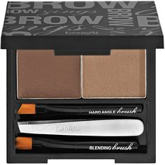 Benefit Cosmetics Brow Zings Shaping Kit (€28) ❤ liked on Polyvore featuring beauty products, makeup, eye makeup, beauty, eyebrows, eyes, filler, eye brow makeup, brow kit and wax kit