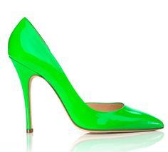 Neon Heels Shoes