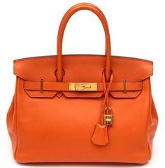 orange Birkin by merle