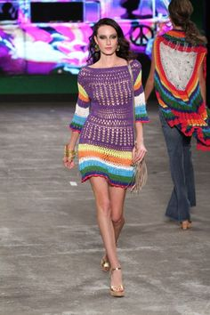 Crochet Colourful Fashion Diagrams