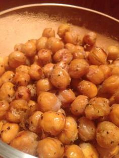 Now on @Fooducate:  Roasted Chickpeas