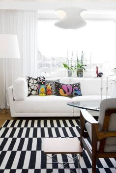 tapete preto e branco listrado - Pesquisa Google