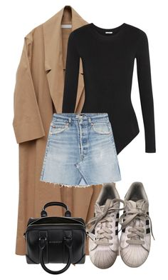 """""""Look:#571"""" by dollarwomanlux ❤ liked on Polyvore featuring Wolford, RE/DONE, adidas and Givenchy"""