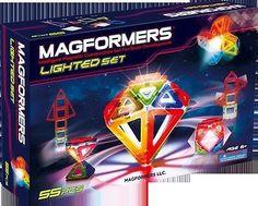 Magformers Light Show 55 pieces 630921 - Toysheik