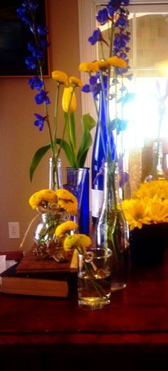 Flower arrangements I did for landmark conference
