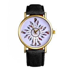 La montre fantaisie tendance incontournable de la saison! Cette montre  fantaisie ajoute une touche original 8da0a870a1e