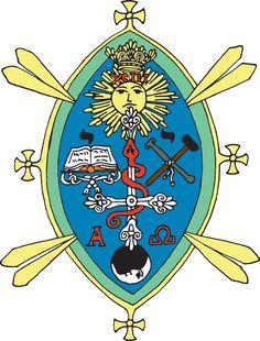 The magical seal of the thelemic Lodge at the flaming eagle (my artwork) / Magická pečeť thelémické Lóže U plamenné orlice (má výtvarná práce)