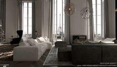 Rénovation moderne d'un appartement haussmannien, Paris, new home agency - architecte d'intérieur