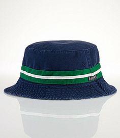 Polo Ralph Lauren Reversible ChinoandTartan Bucket Hat  Dillards Bucket Hat f7e36b70253
