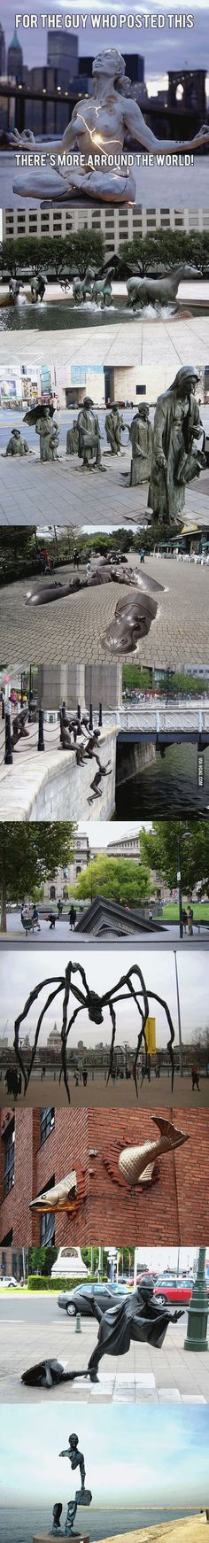 Amazing Statues Around The World