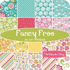 Fancy Free Fat Quarter BundleLori Whitlock for Riley Blake Designs - Fat Quarter Bundles   Fat Quarter Shop