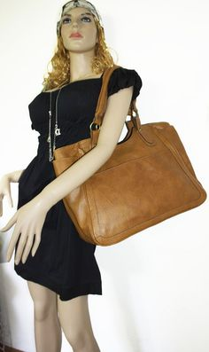 SPECIAL OFFER Tan Leather Tote Leather Bag Leather by chicleather