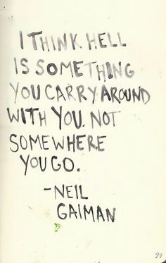 Neil Gaiman, from Seasons of Mists