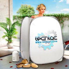 Sauna portátil con generador de vapor | Tecniac