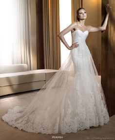 form fitting wedding gowns