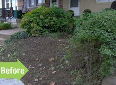 Before & After: Stella's Front Yard Fix Garden Makeover, Yard Ideas, Outdoor Ideas, How To Look Pretty, Gardens, Stones, Landscape, City, Water