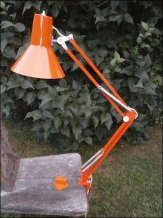 70er Jahre Lampe / Schreibtischlampe / Gelenklampe / Klemmlampe, günstig kaufen und gratis inserieren auf willhaben.at!