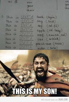 A true Spartan