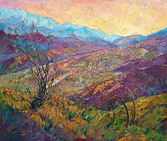 Coyote Canyon II by Erin Hanson